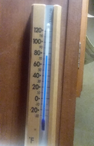 thermometer inside RV